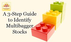 How 2 pick d right multibagger stock? Read the blog and go through a 3-Step Guide 2 Identify Multibagger Stocks.