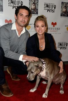 Kaley Cuoco Champions Pit Bulls at 'Stand Up for Pits' - http://www.reellifewithjane.com/2013/11/kaley-cuoco-champions-pit-bulls/