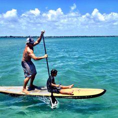 SUP boarding Sebastian Florida