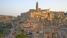 Sasso Barisano, topped by Matera's cathedral. Photo: Andrew Bain