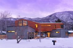 Soulmate24.com Contemporary Aspen Home. #mansionhomes #realestate #luxuryhome #mansion #luxuryrealestate #luxurylife #luxury… Mens Style