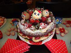 #nakedcake #owlcake #bolocorujinhas