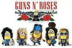 Minion Guns n' Roses