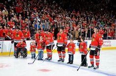 #HockeyFightsCancer Night at the United Center.