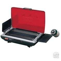 Coleman Red Tabletop Propane Grill, $91