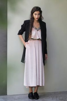 Velvet Midi Dress, Pink Velvet, Hair Makeup, Street Style, My Style, Womens Fashion, Casual, Model, Clothes