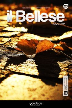"""Cover & Layout of the """"Il Bellese Magazine""""   