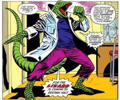 The Lizard in Amazing Spider-Man #165