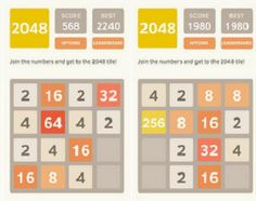 Threes vs. 2048: When rip-offs do better than the original game | Donna Murdoch: This. That. Interesting Things.