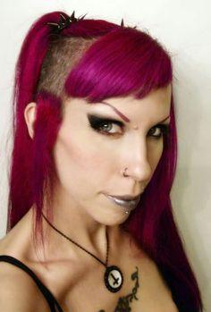 Crazy Color -- Cyclamen Hair Colour, Color, Crazy Colour, My Hair, Salons, Style, Fashion, Swag, Moda