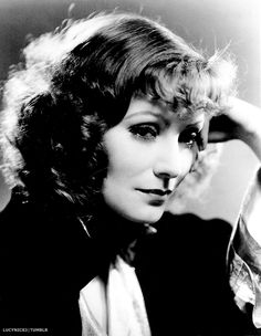 """Her face was the most inspirational I ever photographed"" - Clarence Sinclair Bull on Greta Garbo."