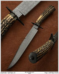 Handmade knives by Kyle Royer***Research for possible future project.