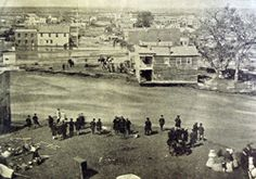 Cherry Creek flood of 1864, Larimer Street looking west, Denver. I remember the 100 yr flood of 1965 -