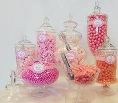 candy buffet ideas glass jars - Google Search