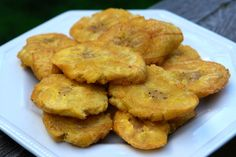 Thick plantain chips