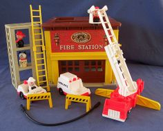 Fire Station--my kids love playing with this although, the dinging bell is much more annoying now that I'm not the one playing with it!