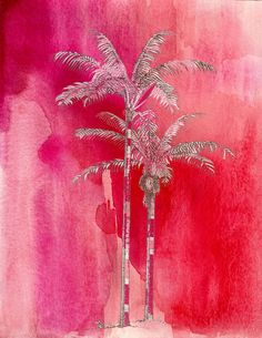 Buy Painted Red Palm by Grimalkin Studio/Kandy Hurley as a matted print, mounted print, canvas print, framed print, or art prints Original Artwork, Original Paintings, Red Palm, Fine Art Prints, Framed Prints, Sale Poster, Paintings For Sale, Artist At Work, All Art