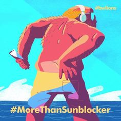 """104 Likes, 4 Comments - WOODBLOCK (@woodblock.tv) on Instagram: """"SO. GOOD. 😄😄😄 #morethan #morethansunblocker #tan #butt #cleavage #sexy #canneslions #2danimation…"""""""
