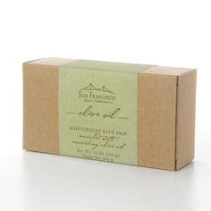Yummy San Francisco Soap Company soap! In Olive Oil :)