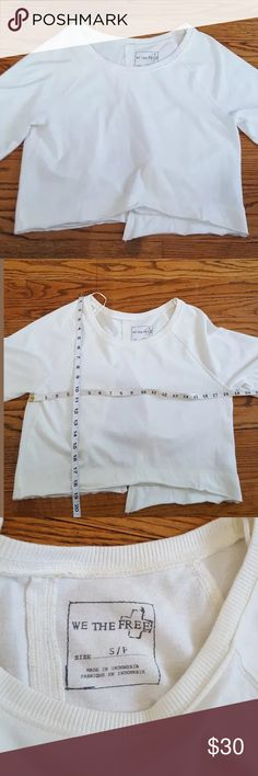 We the free open back Top size Small Excellent condition  We the free top Size Small Free People Tops