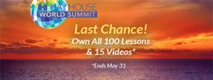 There are less than 12 hours left to own the 2017 Hay House World Summit packages!