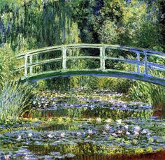 Le Pont Japonais _ Claude Monet