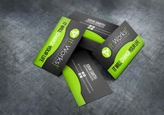 15 Best It Works Business Cards Images Business Card Templates