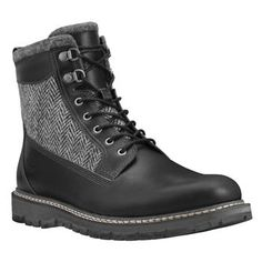 Timberland - Boots Britton Hill 6-inch with Warm Lined Homme - Noir