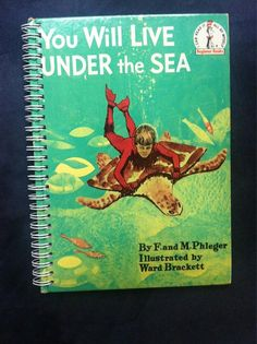 You Will Live Under The Sea Blank Book by Merrittorious on Etsy, $12.00