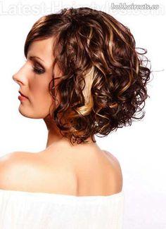 20+ Curly Bob Hairstyles - 9 #BobHaircuts