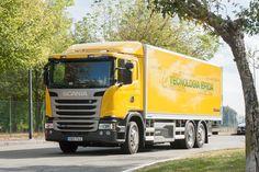 TODO SOBRE LOGÍSTICA Y DEPÓSITO EN ARGENTINA  TRANSPORTE | LANZAMIENTOS 2017: Scania lanzará un camión híbrido llamado 'G320 Hybrid'. http://satyl.blogspot.com.ar/
