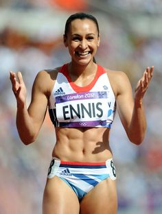 Jessica Ennis-Hill, who won heptathlon gold for Great Britain at the London 2012 Olympics, has retired from athletics. Jessica Ennis Hill, Jess Ennis, Heptathlon, Sport Top, Beautiful Athletes, Gym Clothes Women, Sporty Girls, Girls Fit, Sporty Outfits
