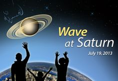"""The 'Wave at Saturn"""" event will be the first time Earthlings have had advance notice that their picture will be taken from interplanetary distances. Credit: NASA/JPL-Caltech"""