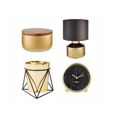 Add a touch of luxury to your home with these new pieces from the @i_am_lisat range from @targetaus. All of these items are under $50! #target #targetaus #thebargaindiaries #black #gold #homedecor
