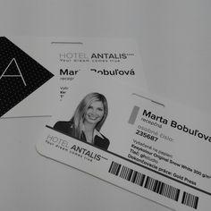 Hotelový preukaz ANTALIS Original Snow White, Ms Gs, Dreaming Of You, Polaroid Film, Cards Against Humanity, The Originals