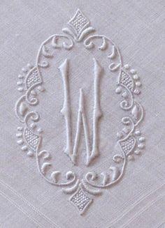 Beautiful Monogram detail