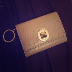 Kate Spade small wallet Beige small leather wallet. Normal wear and tear. Will happily send more photos for serious buyers. kate spade Bags Wallets