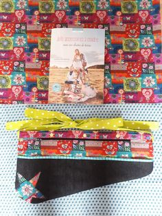 Ma ceinture d atelier d après le livre de @Pailettes et Bobinette et les tissus de chez @e-mercerie