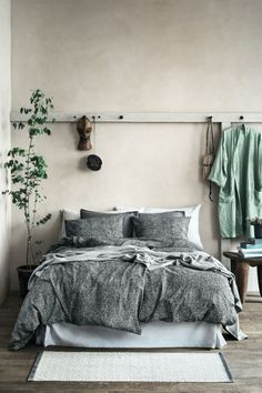 Love the grey and mint combo