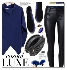 """""""Yoins Casual: Velvet Boots"""" by beebeely-look ❤ liked on Polyvore featuring Fendi, Estée Lauder, casual, velvet, casualfriday and yoinscollection"""