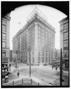 Seelbach Hotel, Louisville, Ky. The Seelbach Hotel opened in May 1905.