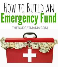 How To Build an Emergency Fund. How my husband and I saved $1,000 in 5 months to start our emergency fund. (it's easier than you think!) - The Budget Mama