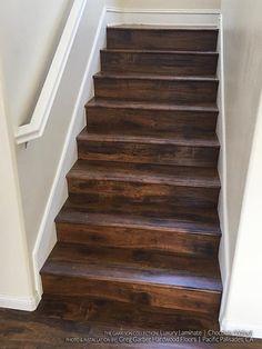 Chocolate Walnut Laminate Flooring  Hardwood Flooring Stairs Staircase