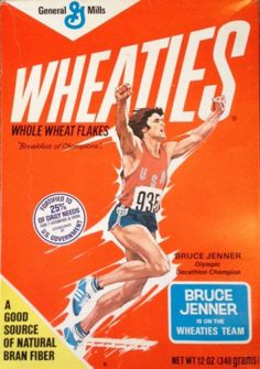 """For Sale. Limited Edition Bruce Jenner Wheaties box from when he was a man…"