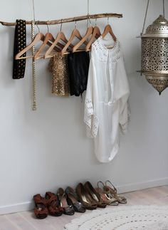 I would love this if I planned out my outfits for the week and kept the rest of my clothes in a real closet.