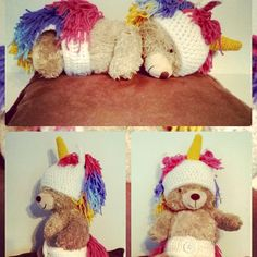 Crochet Unicorn Outfit/Made to Order by SLHandmadeDesigns on Etsy