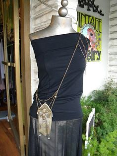 two chainmaille purses layered