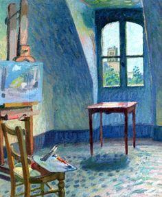 The Studio / Raoul Dufy - 1904
