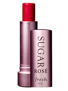 I have heard SUCH good things about this.  Can't wait to try!!!! Fresh Sugar Rosé Tinted Lip Treatment SPF15