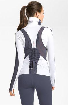 Make workouts FIERCE! Zella 'Zeltek Mid Statement' Jacket available at #Nordstrom